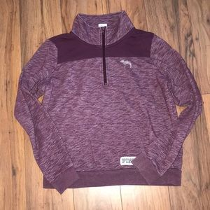 Purple VS quarter zip